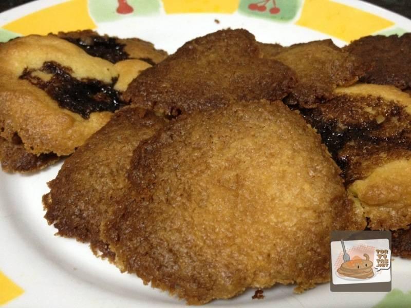 Utilísima receta de galletas caseras faciles para visitas inesperadas.