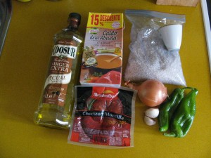 Ingredientes arroz ibérico