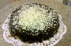 Tarta de limon y chocolate