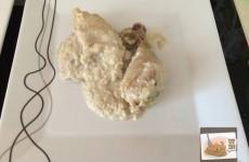 Pollo Con Almendras. Pulsar para ver grande.