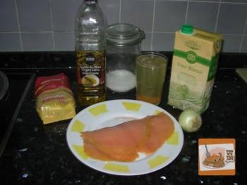 Cuscús de Salmón - Ingredientes